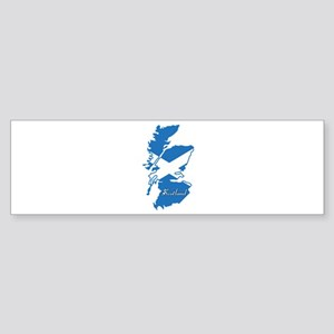 Cool Scotland Bumper Sticker