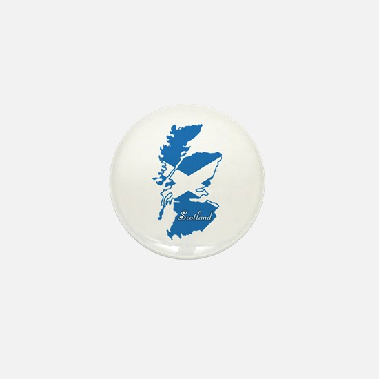Cool Scotland Mini Button