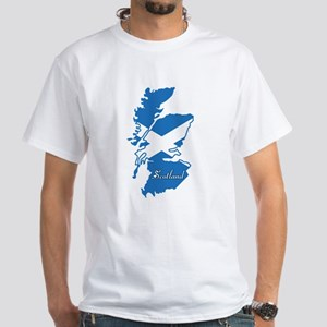 Cool Scotland White T-Shirt