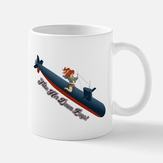 Sub Pin-Up Mugs