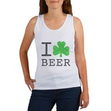 Vintage I Shamrock Beer Women's Tank Top