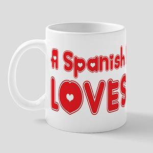 A Spanish Major Loves Me Mug