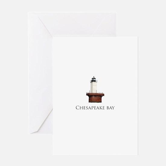 Chesapeake Bay Lighthouse Greeting Card