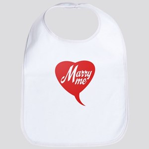 Marry me Baby Bib