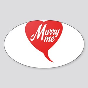 Marry me Sticker