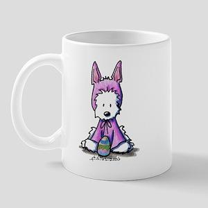 Easter Bunny Westie Mug