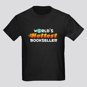 World's Hottest Books.. (D) Kids Dark T-Shirt