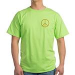 Peace Green T-Shirt