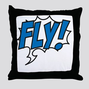 Live, love, fly Throw Pillow