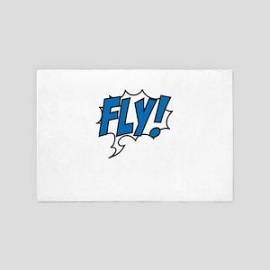 Live, love, fly 4' x 6' Rug