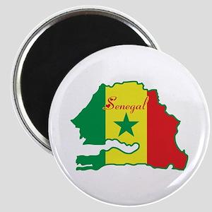 Cool Senegal Magnet