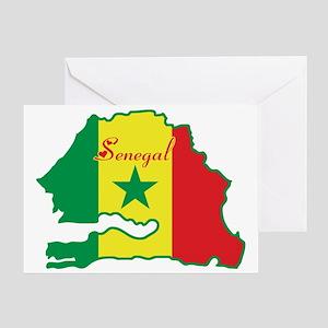 Dakar senegal stationery cafepress cool senegal greeting card m4hsunfo