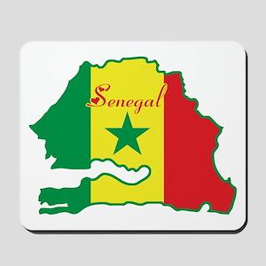Cool Senegal Mousepad