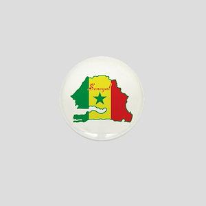 Cool Senegal Mini Button
