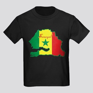 Cool Senegal Kids Dark T-Shirt
