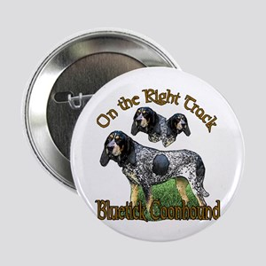 "Bluetick Coonhound Gifts 2.25"" Button (10 pack)"