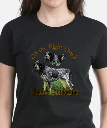 Bluetick Coonhound Women's Dark T-Shirt