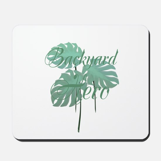 Backyard Hero Gardener Mousepad