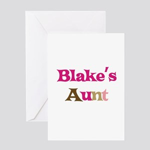 Blake's Aunt Greeting Card