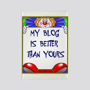 BLOGGERS Rectangle Magnet