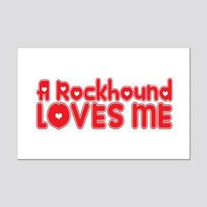 A Rockhound Loves Me Mini Poster Print