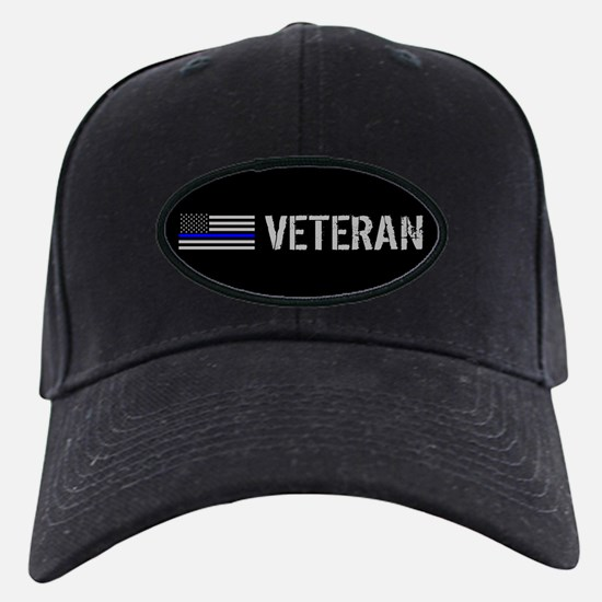 Police: Veteran (Thin Blue Li Baseball Hat