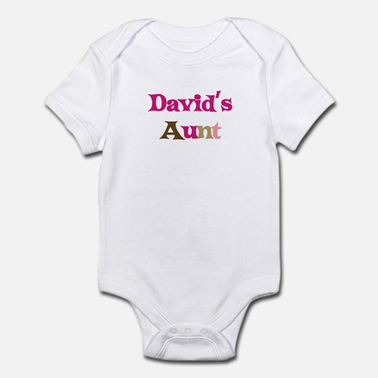David's Aunt Infant Bodysuit
