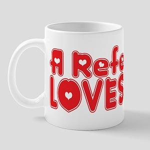 A Referee Loves Me Mug