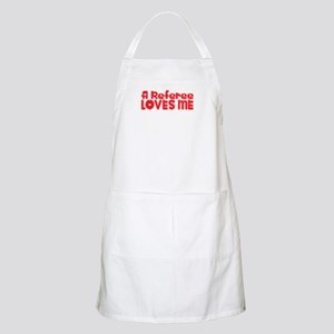 A Referee Loves Me BBQ Apron