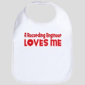 A Recording Engineer Loves Me Bib