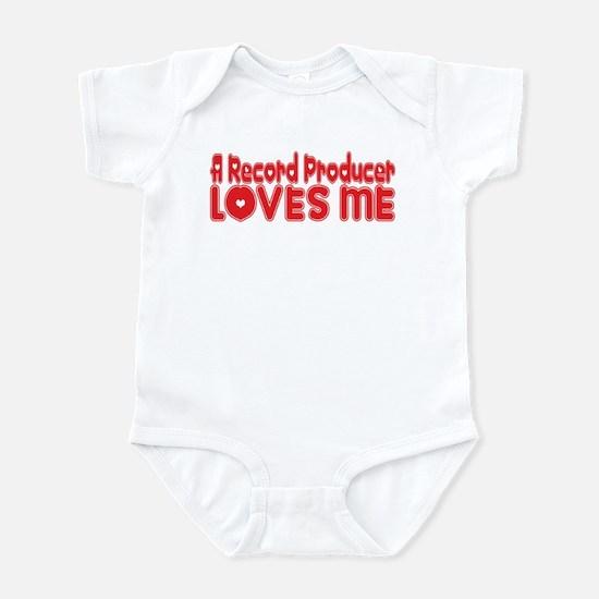 A Record Producer Loves Me Infant Bodysuit