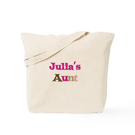 Julia's Aunt Tote Bag
