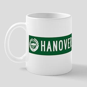 Hanover St , Boston, MA T-shi Mug