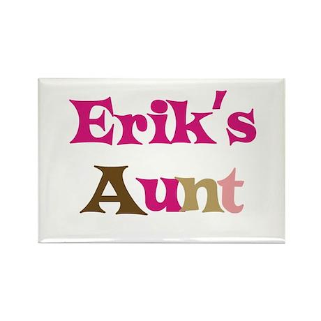 Erik's Aunt Rectangle Magnet