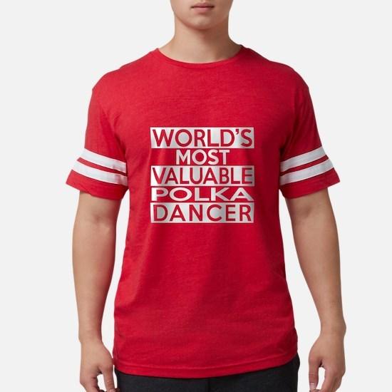 World's Most Valuable Polka D Women's Dark T-Shirt
