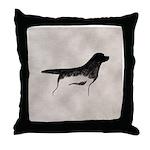 Cave Dog Labrador Retriever Throw Pillow