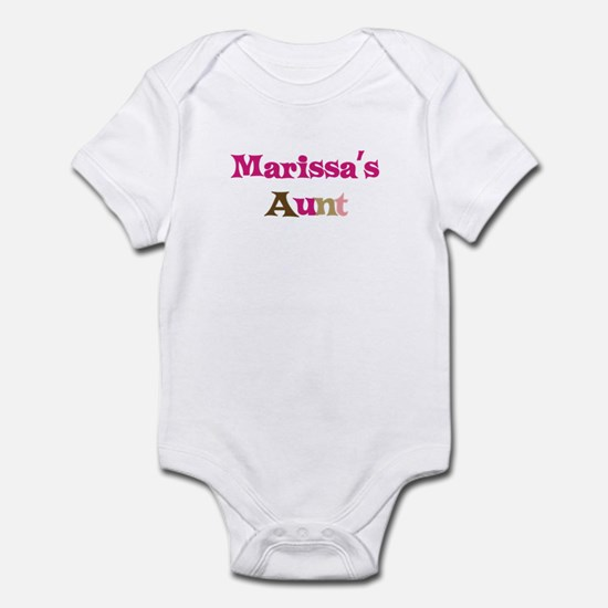 Marissa's Aunt Infant Bodysuit