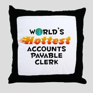 World's Hottest Accou.. (C) Throw Pillow