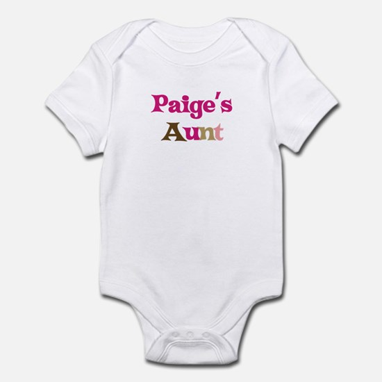 Paige's Aunt Infant Bodysuit