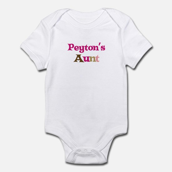 Peyton's Aunt Infant Bodysuit