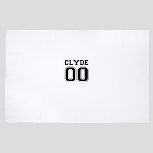 Bonnie and Clyde shirts 4' x 6' Rug