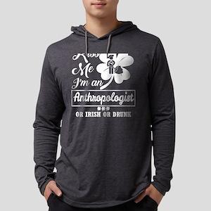 Kiss Me Im Anthropologist Iris Long Sleeve T-Shirt