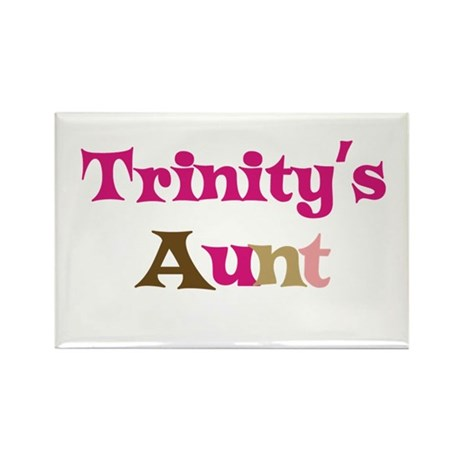Trinity's Aunt Rectangle Magnet (10 pack)