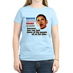 anti-Obama Fool the People Women's Light T-Shirt