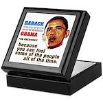 anti-Obama Fool the People Keepsake Box