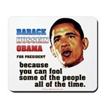 anti-Obama Fool the People Mousepad