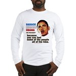 anti-Obama Fool the People Long Sleeve T-Shirt