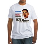 anti-Obama Fool the People Fitted T-Shirt