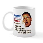 anti-Obama Fool the People Mug