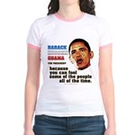 anti-Obama Fool the People Jr. Ringer T-Shirt